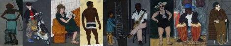 People by Tasha Robbins (collage)