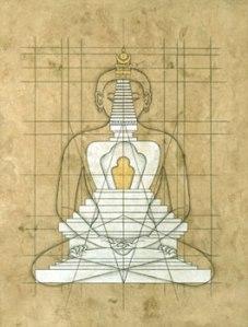 Buddha Stupa by Carla Crow
